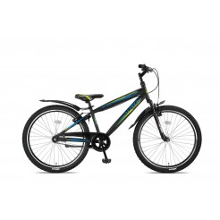 Altec Nevada 26inch Jongensfiets Black/Lime