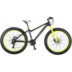 FAT Bike Allround 26inch 2D Zwart/Groen