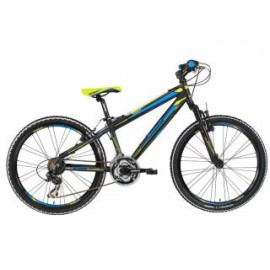 Lombardo Mozia 24 inch 21SP Zwart Blue Yellow