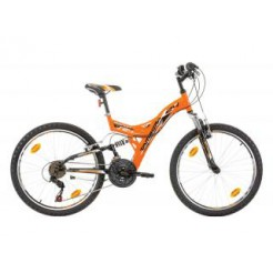 "Marlin Tambora 24"" Orange/Black F/S Shimano 18SP"
