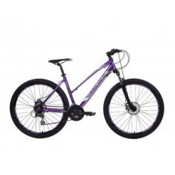 "Outrage 602 D18"" Purper/Black Acera 21SP"