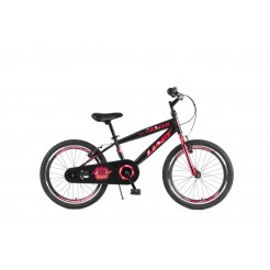 Umit Faster 20 inch MTB Black Red