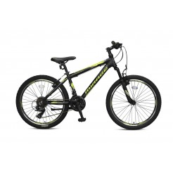 Umit Mirage 24 inch MTB Black/Lime